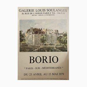 Affiche Inconnue - Borio - Galerie d'Affiche Vintage Louis Soulanges - 1972
