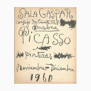 Pablo Picasso - Picasso. 30 imágenes inéditas - Catálogo vintage Sala Gaspar - 1960