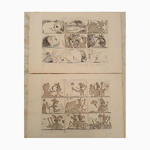 Pablo Picasso - Dream and Lie of Franco - Original Etchings and Aquatints - 1937