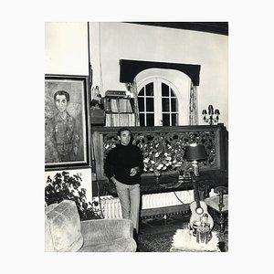 Sconosciuto - Charles Aznavour di Pierluigi Praturlon - Foto d'epoca - 1960