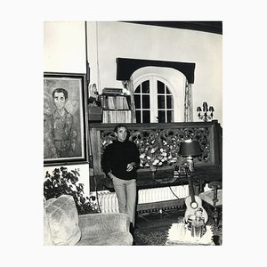 Unbekannt - Charles Aznavour von Pierluigi Praturlon - Vintage Photo - 1960