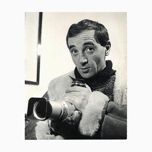 Unknown - Charles Aznavour Fotograf von Pietro Pascuttini - Vintage Photo - 1960s