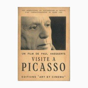 Pablo Picasso - Visit to Picasso - Original Catalogue - 1950