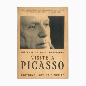 Pablo Picasso - Visita a Picasso - Catálogo original - 1950