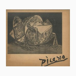 Pablo Picasso - Picasso. the Graphical Work - Vintage Caralogue - 1949
