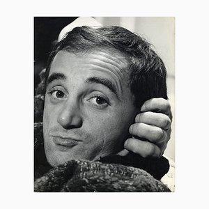 Sconosciuto - Charles Aznavour di Pietro Pascuttini - Foto d'epoca - Anni '60