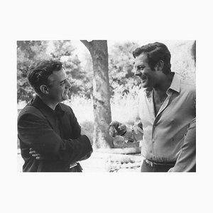 Unbekannt - der italienische Schauspieler M. Mastroianni - Vintage Photographic Print - 1970er Jahre