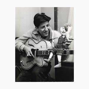 Desconocido - Retrato de Giorgio Gaber - Foto de época - 1959