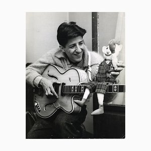 Inconnu - Portrait de Giorgio Gaber - Photo Vintage - 1959