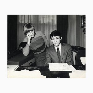 Unknown - Gene Pitney and Caterina Caselli - Vintage Photographic Print - 1966