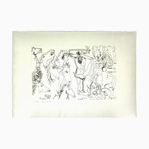 Gian Paolo Berto - the Crucifixion - Original Pencil on Paper - 1975