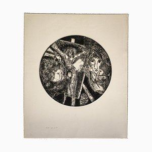 Gian Paolo Berto - Pintor - Aguafuerte original sobre papel - 1974