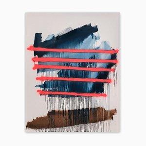 Delirio Roads, Pintura abstracta, 2021