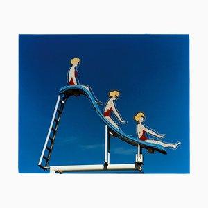 Pool Slide, Las Vegas, Nevada - Fotografia a colori American Pop Art 2003
