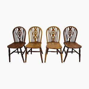 Chaises de Salle à Manger Vintage de Ercol, 1950s, Set de 4