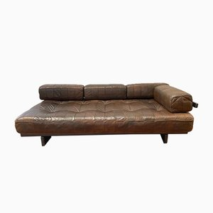 Vintage Patchwork Leather DS 80 Daybed from De Sede