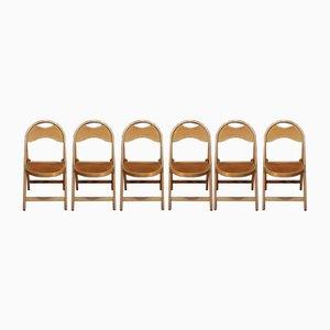 Chaises Pliantes, 1950s, Set de 6