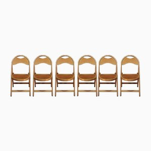 Folding Chairs, 1950s, Set of 6