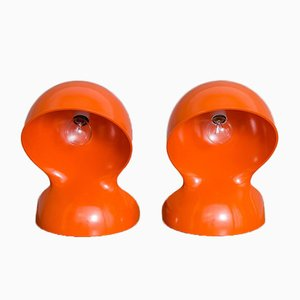 Dalu Lamps by Vico Magistretti for Artemide, 1960s, Set of 2