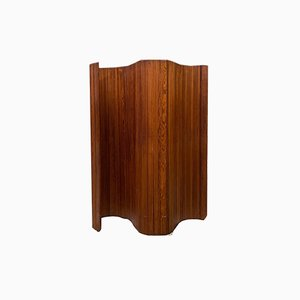 Biombo francés de madera de Baumann, años 20