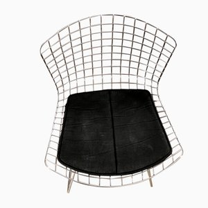 Model 420 Chrome Side Chair by Harry Bertoia for Knoll Inc. / Knoll International, 1990s