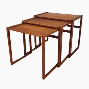 Mid-Century Teak Nesting Tables, 1960s