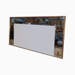 Mirror With Gilded Wood Frame, 1960s