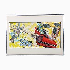 Art O Matic Cidacutie Poster von Peter Phillips für Jabik & Colophon, 1972