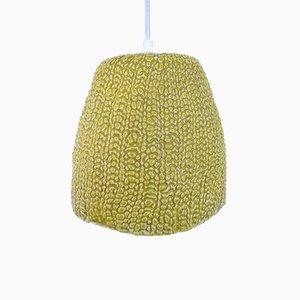 Lámpara colgante danesa de porcelana, años 70