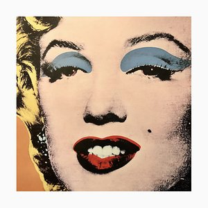 Shot Orange Marilyn 1964 Print by Andy Warhol for Neues Publishing Company New York, 1995