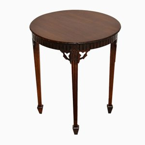 Antique Edwardian Mahogany Occasional Table