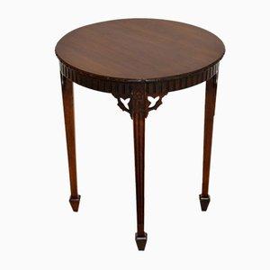 Table d'appoint antique édouardienne en acajou