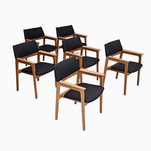Dining Chairs from Bjerringbro Savværk Møbelfabrik, 1970s, Set of 6