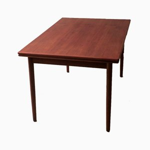 Large Mid-Century Teak Dining Table