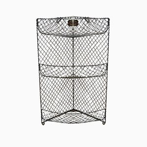 Antique Victorian Wirework Vegetable Rack by Ripping Gilles