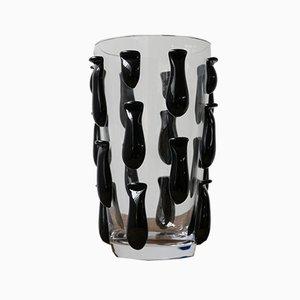 Italienische Vase aus der Mitte des Jahrhunderts, 1980er Jahre