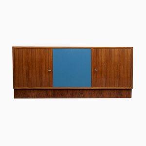Walnuss Sideboard, 1960er Jahre