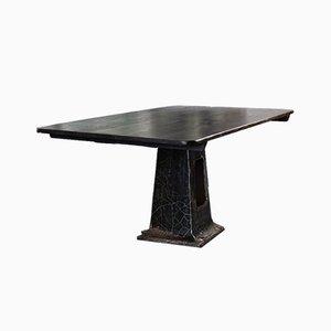 Antiker Französischer Industrieller Tisch