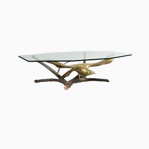 Table Basse Aigle Brutaliste par Alain Chervet, 1990