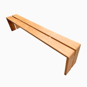 Bench by Charlotte Perriand, 1968