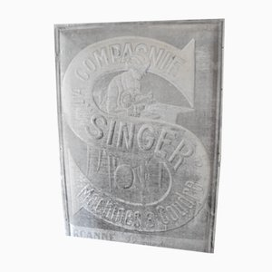 Antique Teach Singer Sign