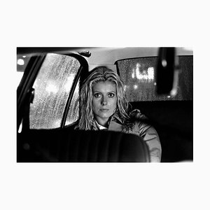 Catherine Deneuve Archival Pigment Print Framed in Black by Giancarlo Botti