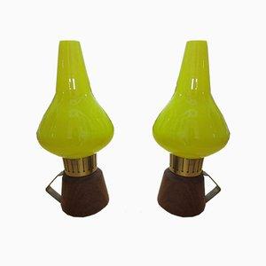 Lampade da tavolo 741159-1, scandinave di ASEA, anni '40, set di 2