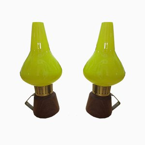 Scandinavian 741159-1 Table Lamps from ASEA, 1940s, Set of 2
