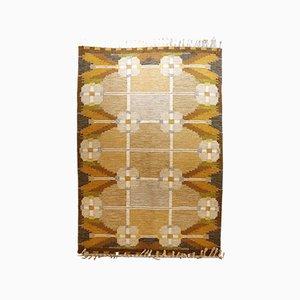 Rollakan Flatweave Kelim Carpet von Ingegerd Silow für Axeco Svenska AB, 1970er Jahre