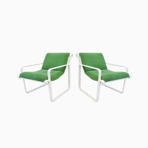 Sling 2011 Lounge Chairs by Bruce Hannah & Andrew Morrison Knoll Inc. / Knoll International, 1970s, Set of 2