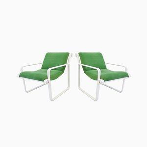 Sling 2011 Lounge Chairs von Bruce Hannah und Andrew Morrison Knoll Inc. / Knoll International, 1970er Jahre, 2er-Set