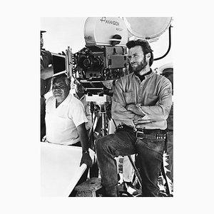 Clint Eastwood Archival Pigment Print In Schwarz gerahmt