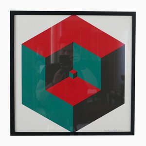 Geometric Print, 1970s