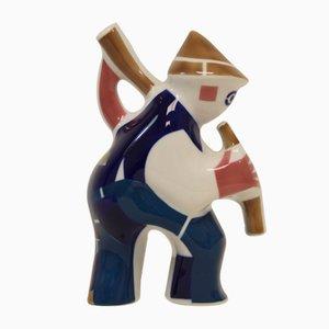 Figura de porcelana de Sargadelos, años 90